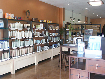 aveda hair salon