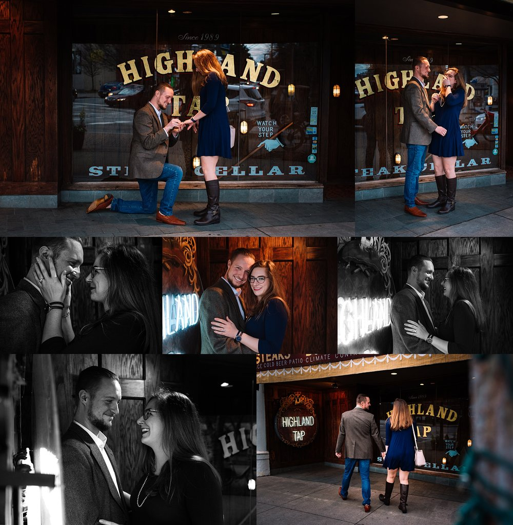 Atlanta Surprise Proposal - engagement photos