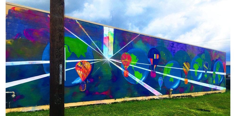 Houston Murals - Graffiti - Street Art - Moment of Brilliance