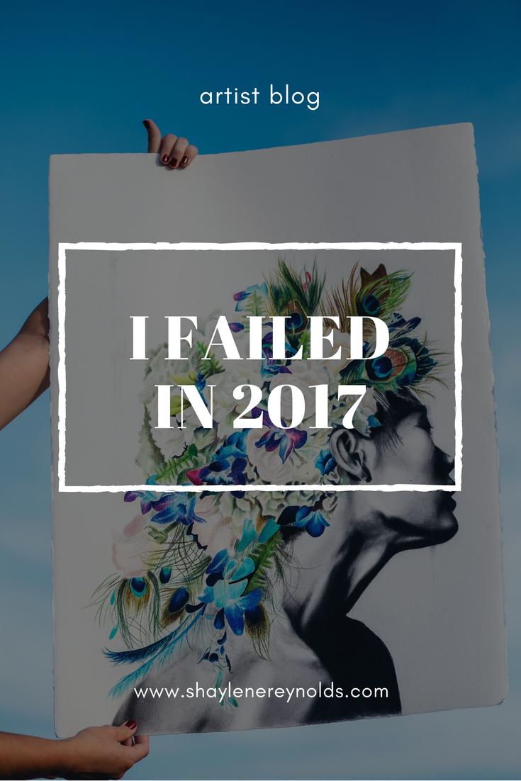 I failed in 2017