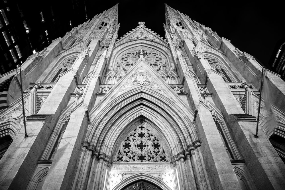 St Patrick's at Night