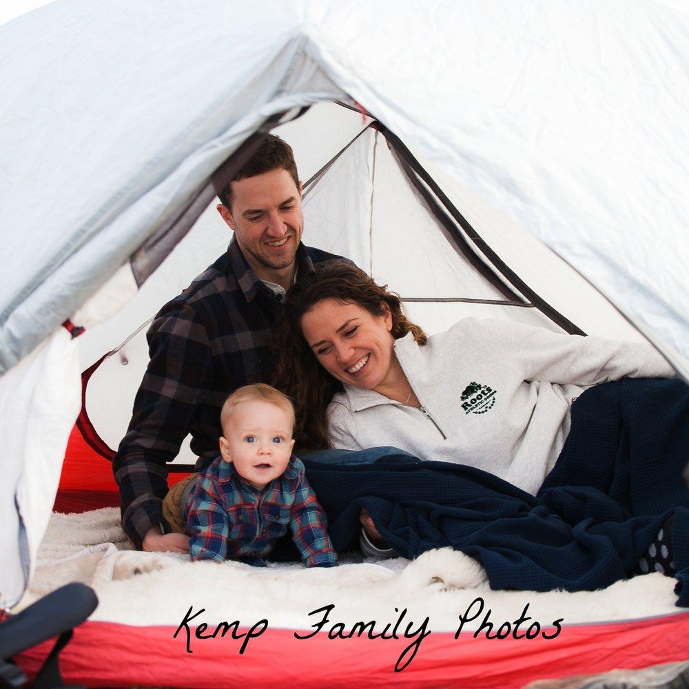 Kemp Camping Family Photos
