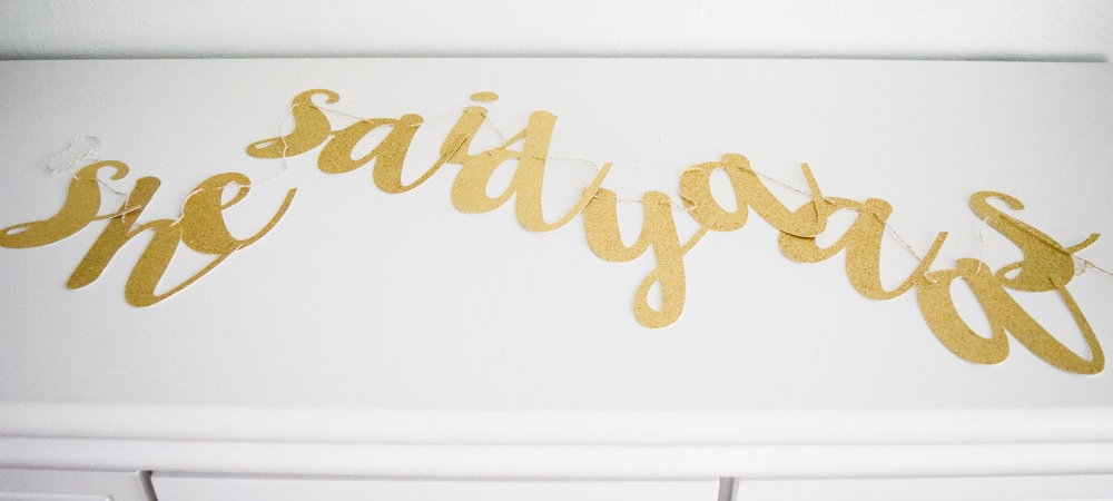 The+Bridal+Boutique+|+Gold+%22She+Said+Yaaas%22+Banner+by+Stag+&+Hen.jpeg