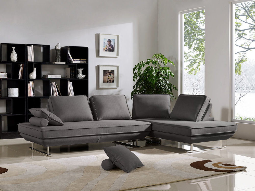 2 Lounger Configuration in Grey