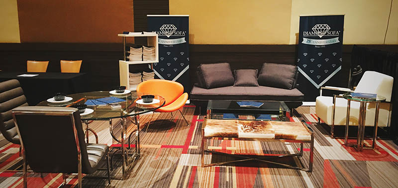 Diamond Sofa at RESACON 2017