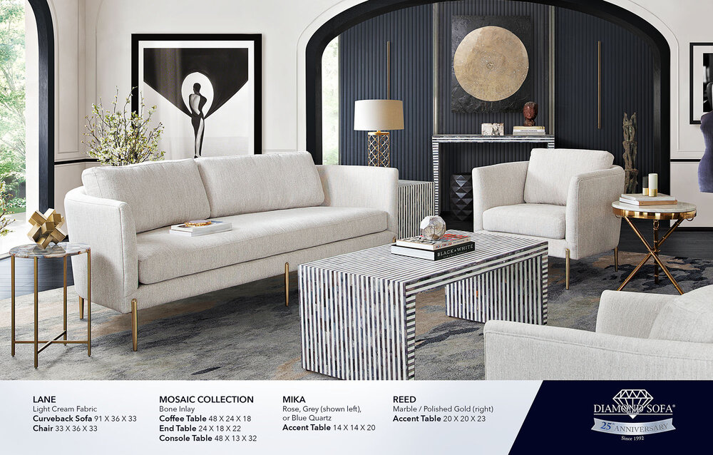 Lane Curveback Sofa (NEW)