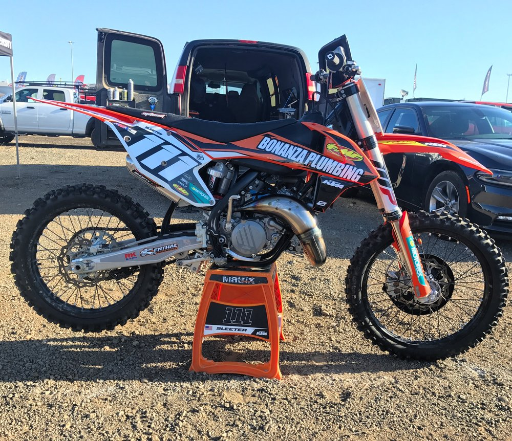 The Transworld MX, Bonanza Plumbing KTM 125