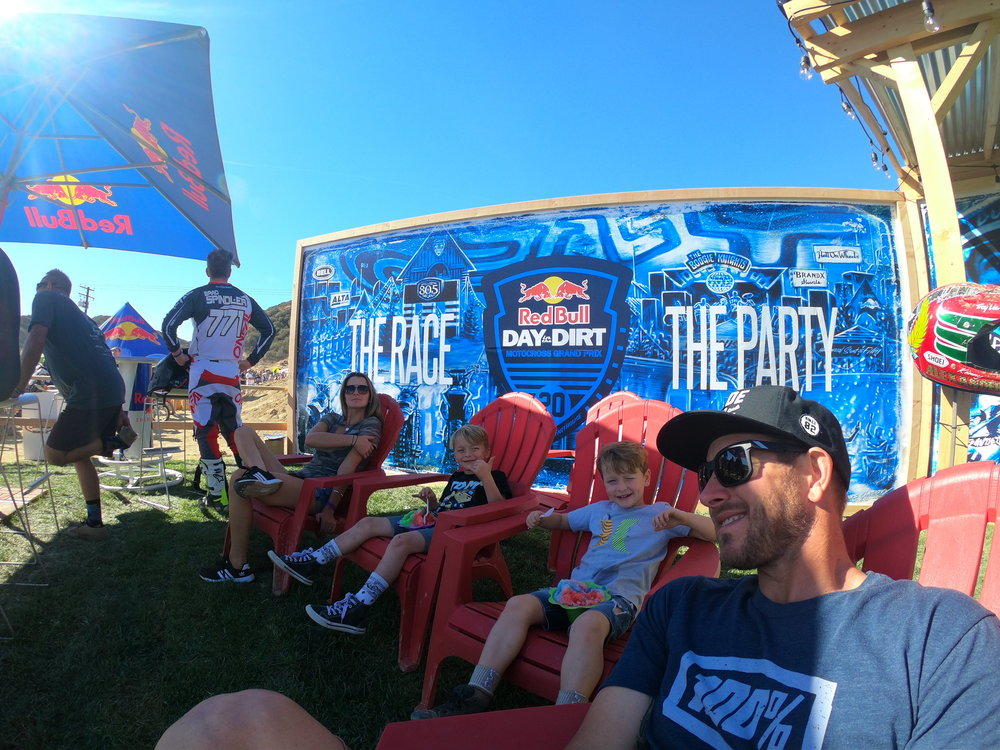 The Red Bull hospitality is like no other at this event. 📷| GoPro