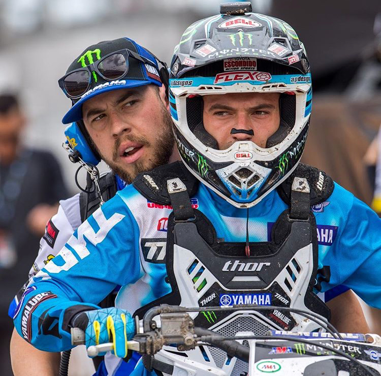 Young Gun Cooper Webb has been using the AC system from the beginning.