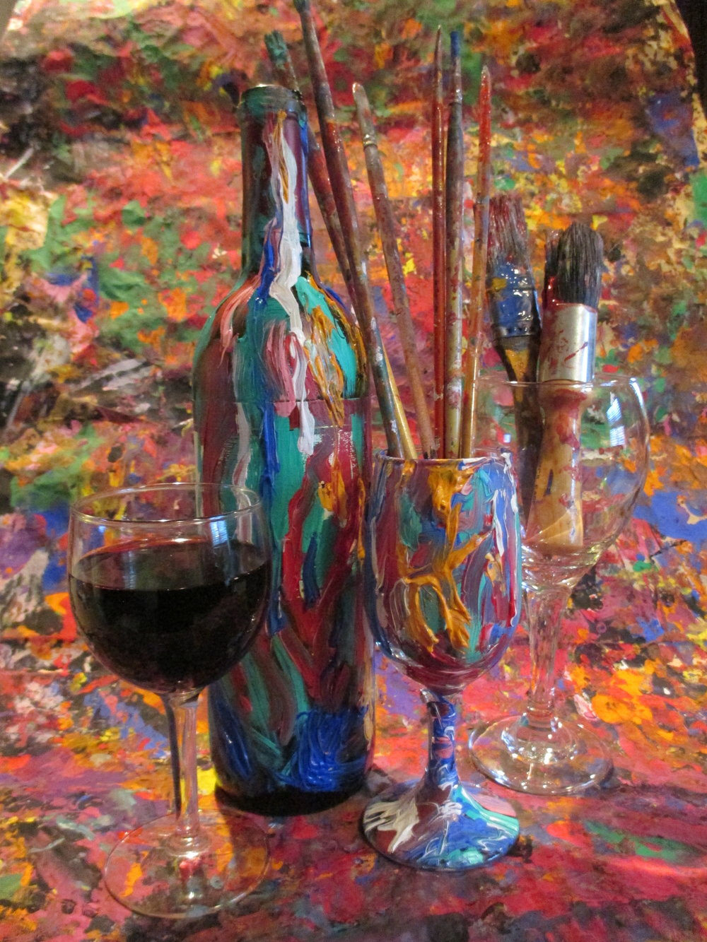 Art time sip wine studios for Painting and wine