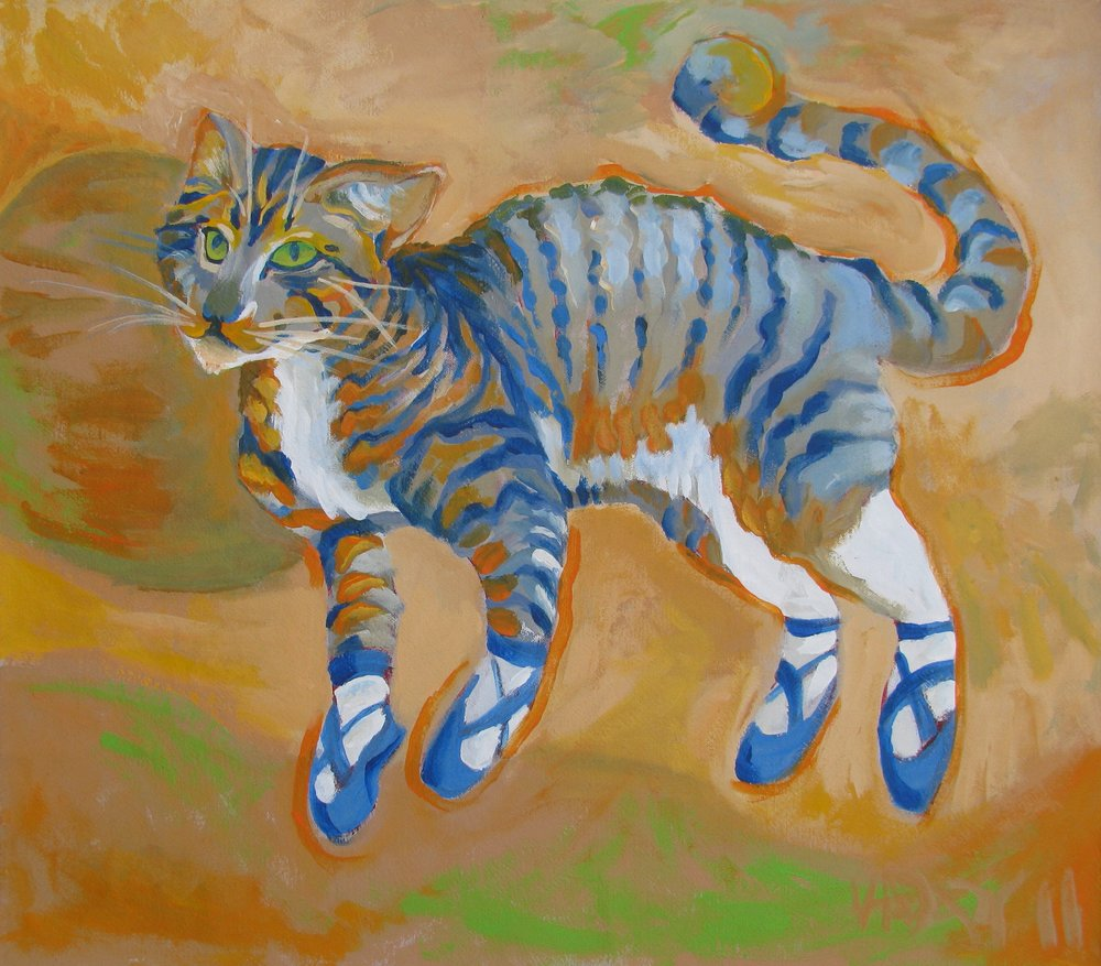 Blue Dance Cat