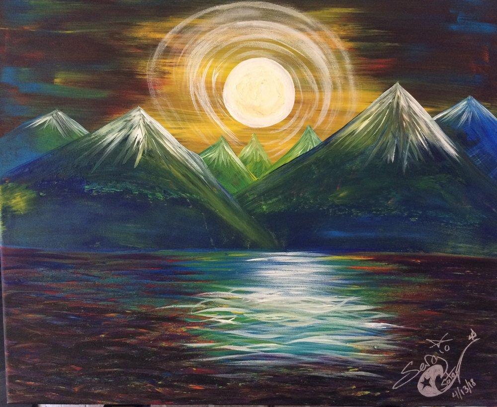 Mountain Moon Lake