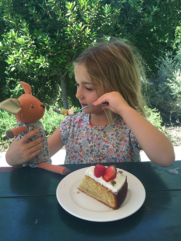 Afternoon Olive Oil Cake with Phoebe Fawn