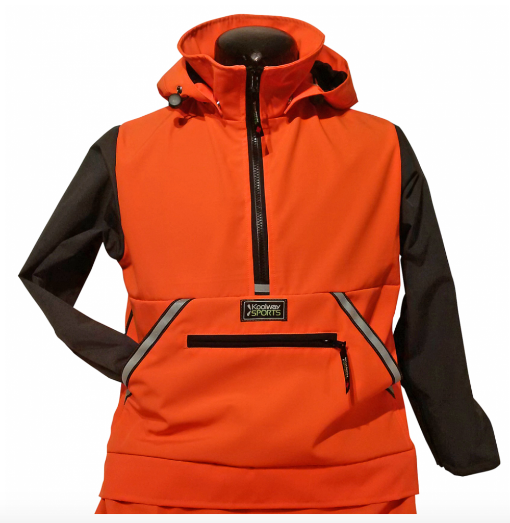 KOOLWAY SPORTS     This is an example of a smart design. I used this jacket in my TEDx TALK in Canada since it was a Canadian brand, but I tell everyone I know about because it is beautifully designed and it makes dressing your loved one with disabilities so easy. I'm a fan!