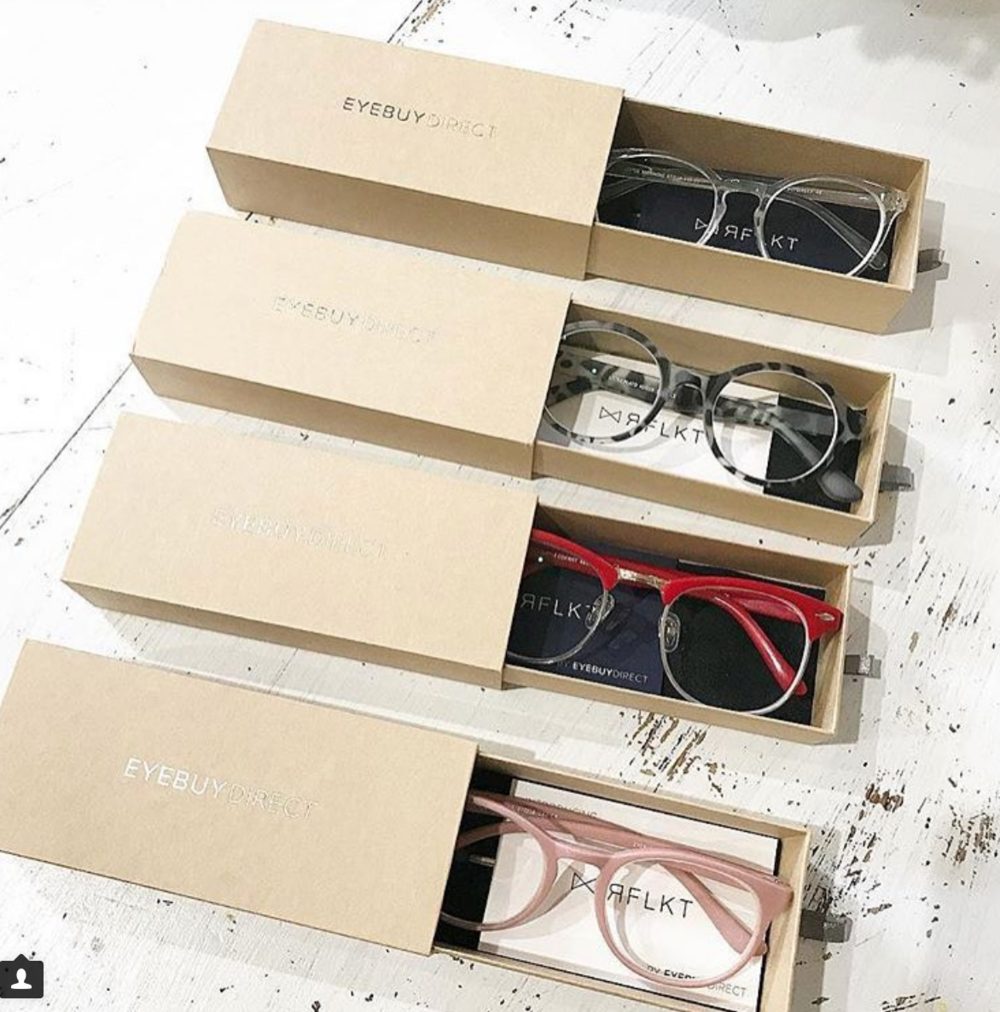 EYEBUY DIRECT $9.00 - $90.00    Recently I started wearing prescription readers. So now that I have to wear them I am often looking for super cute inexpensive options. Eyebuy Direct has really cute affordable frames.