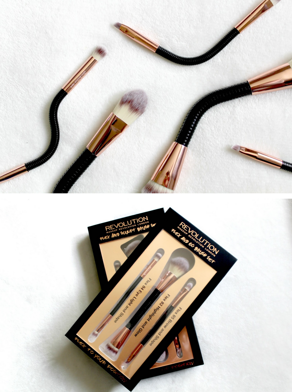 Makeup Revolution Flex Brush Entire Collection $44.80   This full set of flexible brushes makes it less painful to apply make up with arthritis, and other dexterity challenges.