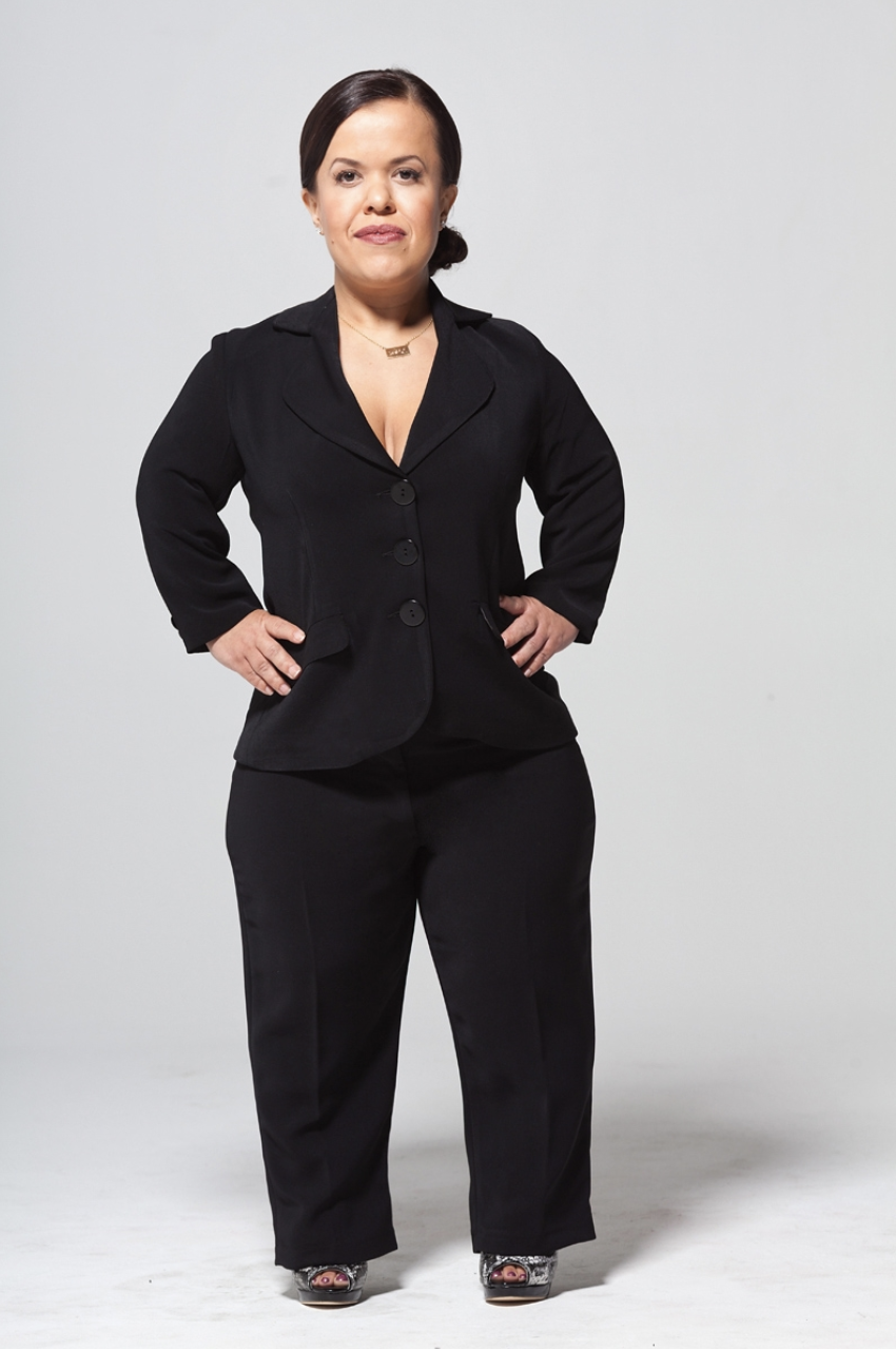 """KATHY D. WOODS   Suit up with this trailblazing brand with ultra feminine clothing for little women. Kathy is not new to the game and she's helped pave the way for dressing little women, like women, and not girls. She has a great wrap dress, blazer, and denim, but right now suits are having a moment so I say, """"suit up""""!"""