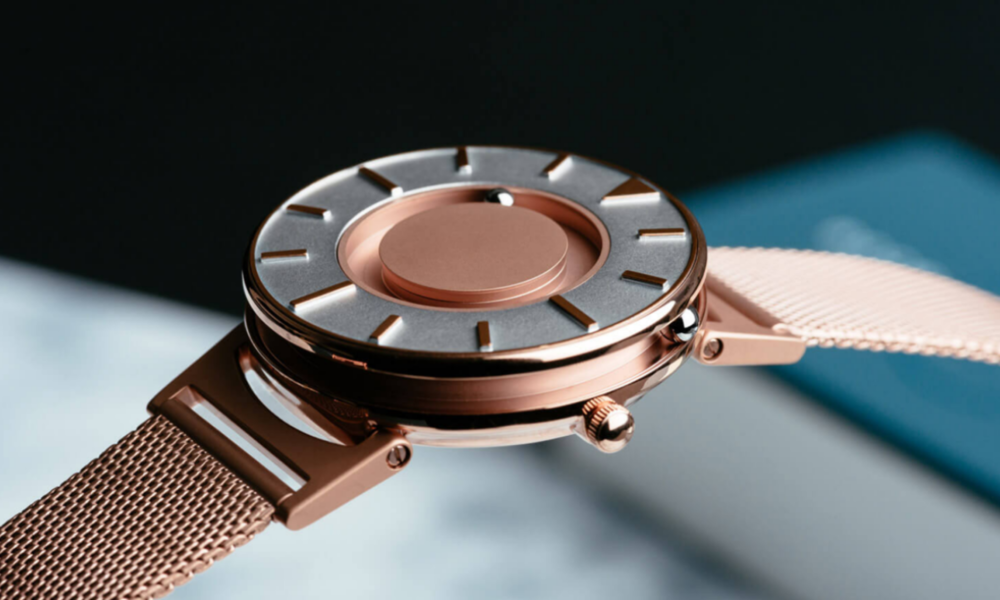 E ONE TIME PIECE $295 - $325     This gorgeous watch allows people to tell time by sight and touch.