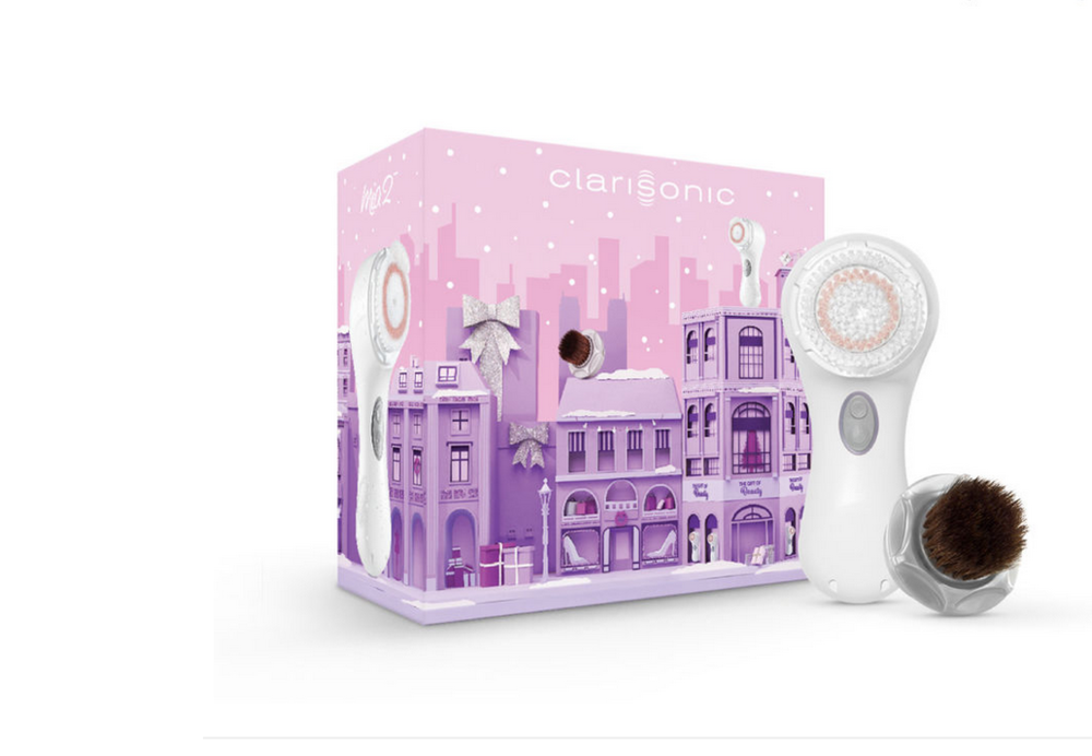 CLARISONIC   MIA 2 BLEND X CLEANSE HOLIDAY SET $169.00   While living on the East coast my dermatologist used Clarisonic to cleanse my skin after my microdermabrasion treatments. That was well over a decade ago. Today, Clarisonic is still one of my favorite go-to beauty products.