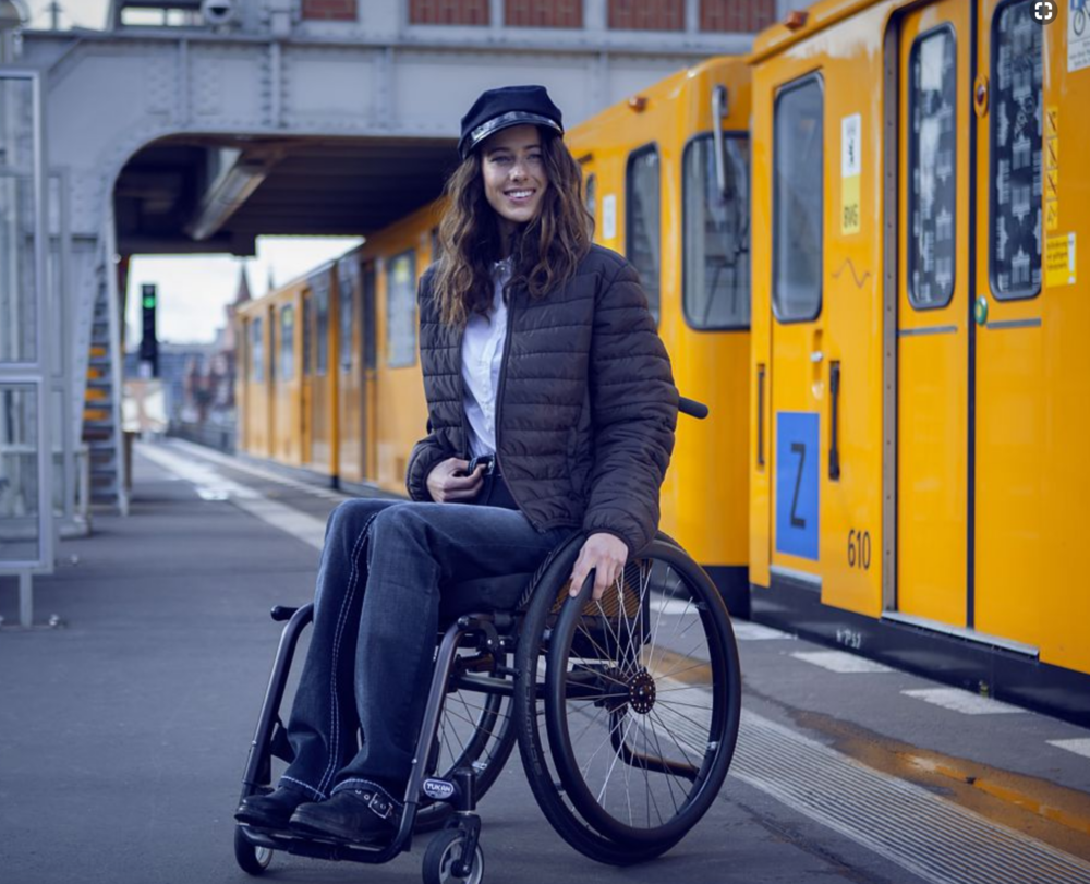 ROLLITEX WHEELCHAIR-FASHION (BERLIN)   Another beautiful adaptive brand in Europe selling clothing for women, children, and men. Keep in mind the shipping may be a bit more expensive, but to purchase clothing you love that's Accessible, Smart, and Fashionable© is worth it.