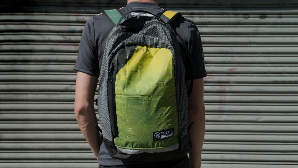 Tifo Backpack - upcycled supporters' bags