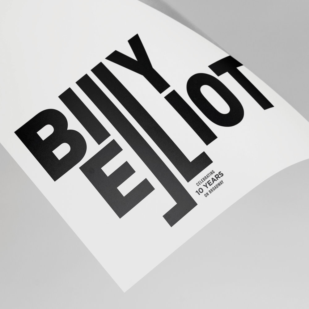 BILLY ELLIOT  Promotional Event Posters