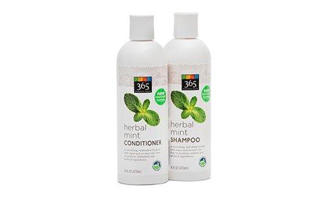365 Herbal Mint Shampoo & Conditioner