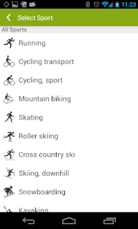 Endomondo App