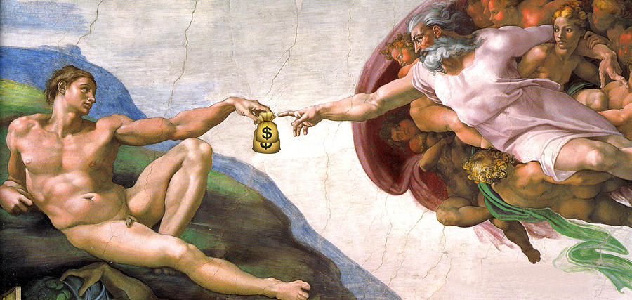 Creation of the First Bribe