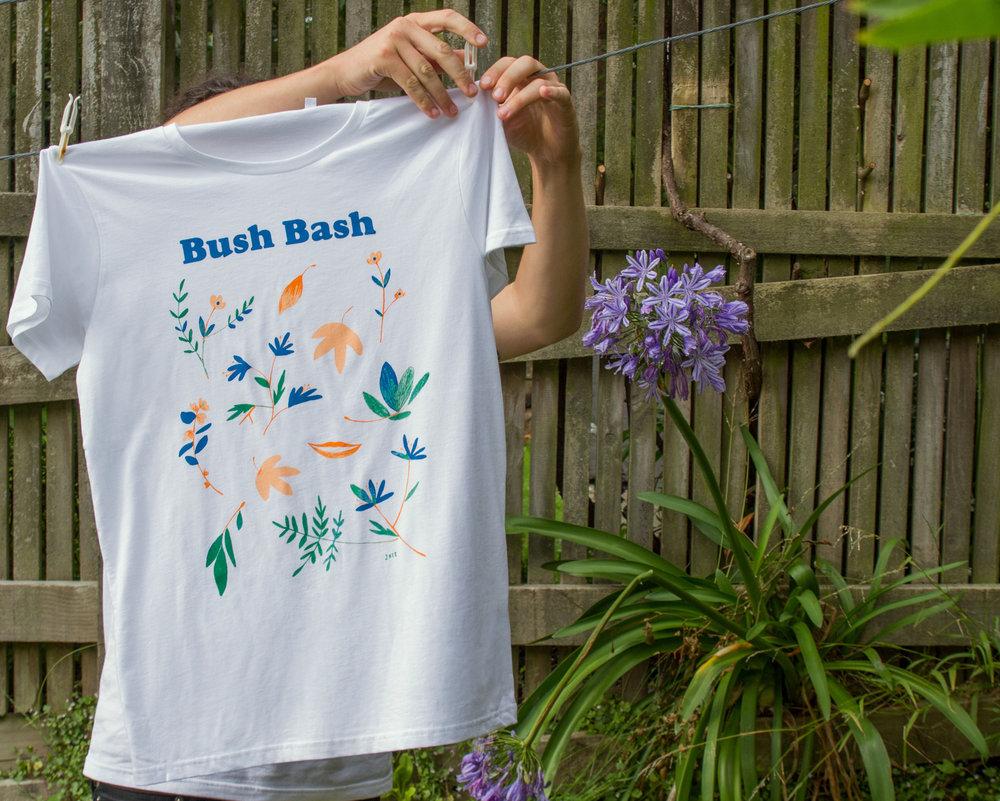 Bush Bash Event Identity -