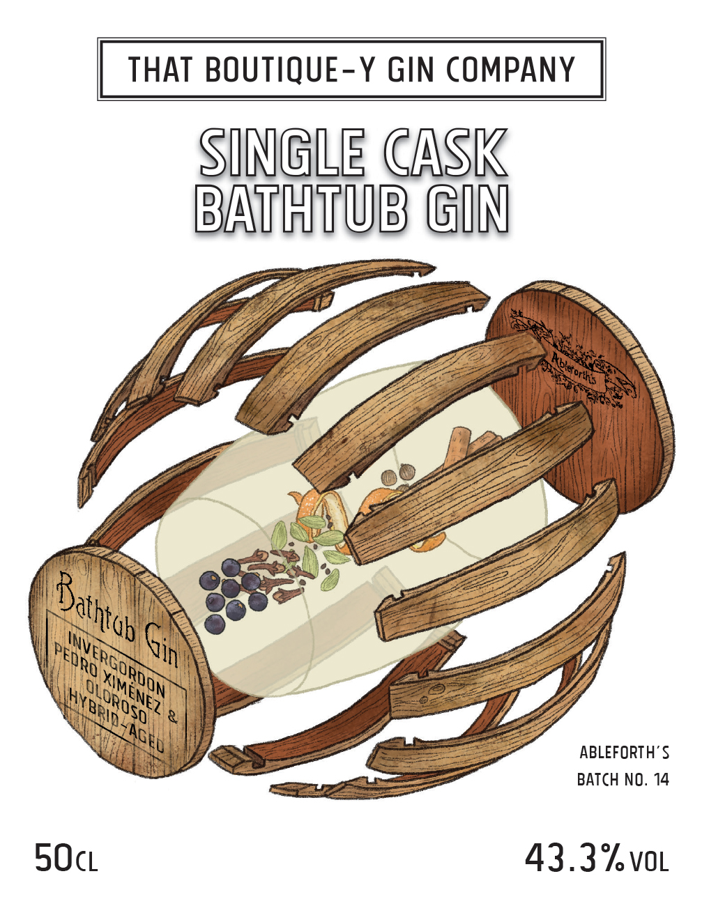 Single Cask Bathtub Gin — That Boutique-y Gin Company