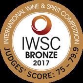 Bronze - IWSC 2017