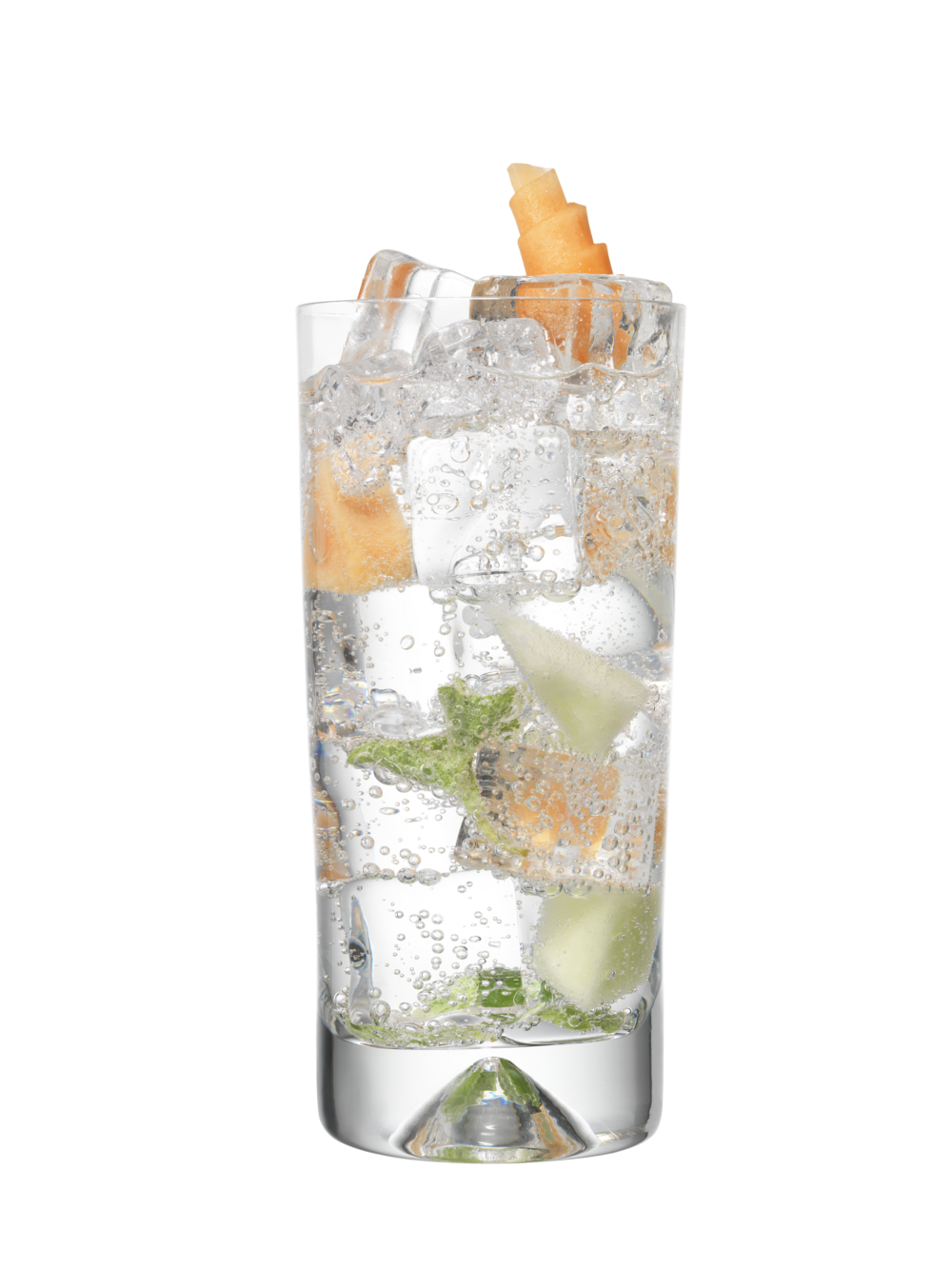 After The Rain - 50ml Fresh Rain Gin100ml Cucumber TonicPinch Fresh Oregano5 Melon Cubes