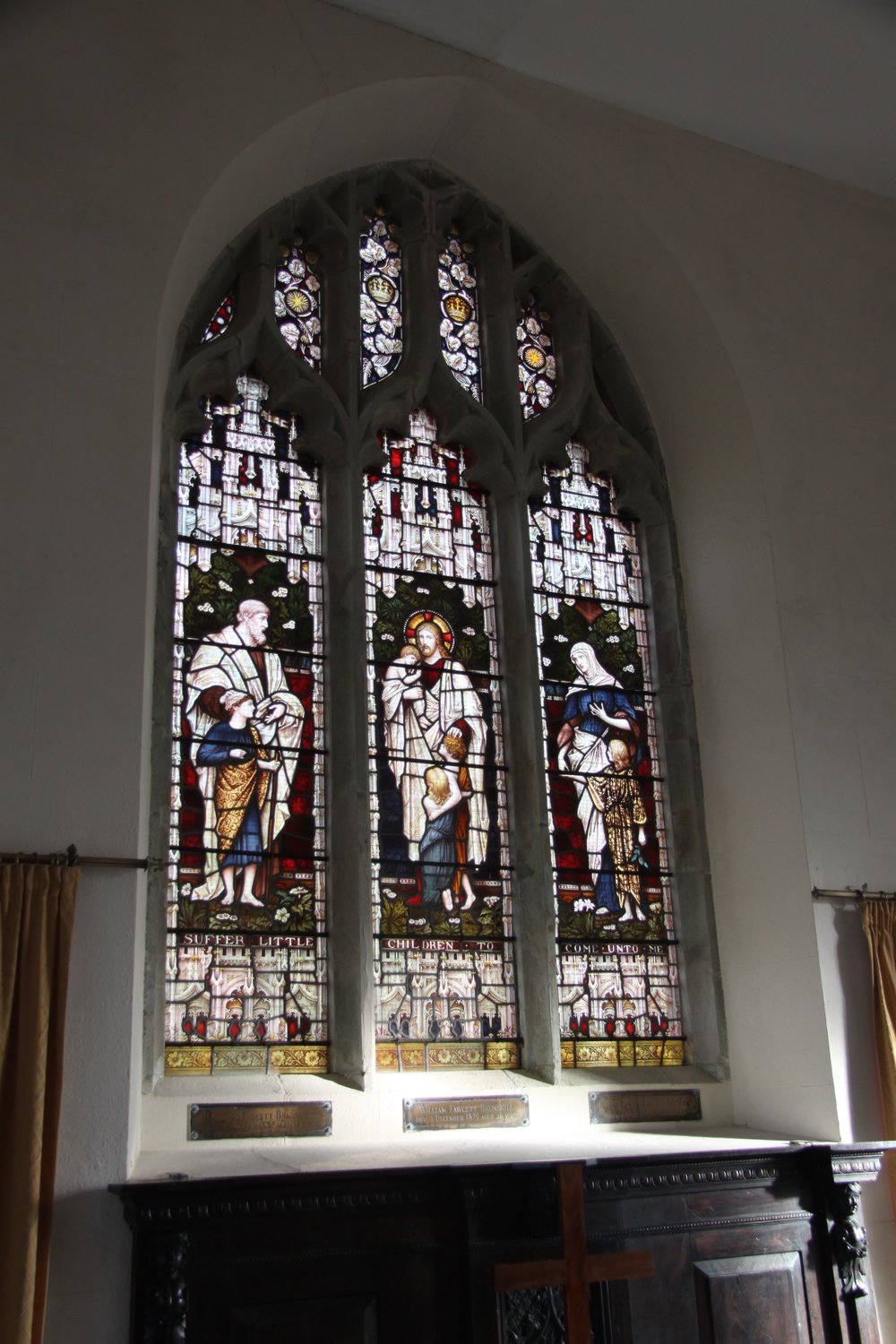 St. Peter's Church Stained Glass