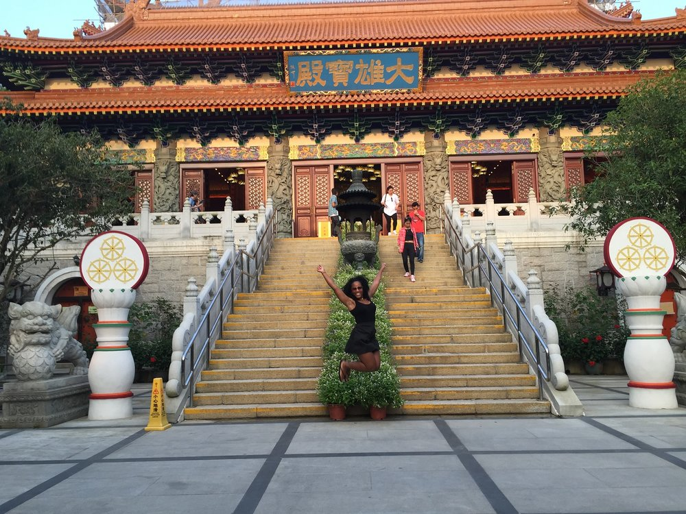 Temple on Lantau Island