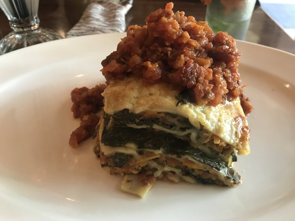 Vegetarian Lasagna - With Cheese! #NewLifestyle
