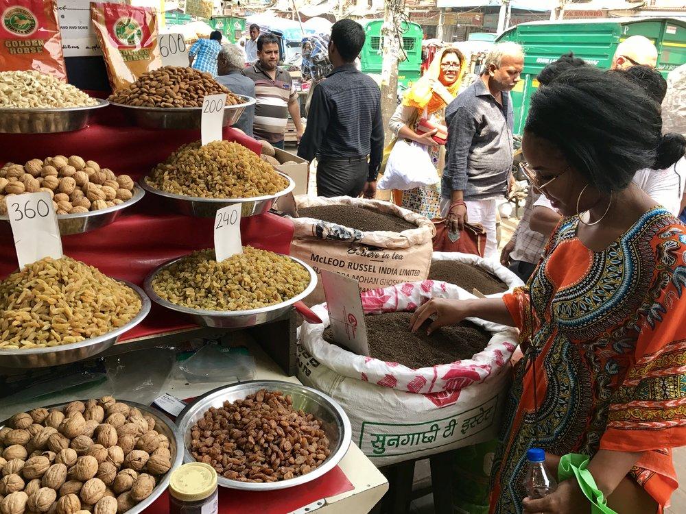 Spice Markets in Old Delhi
