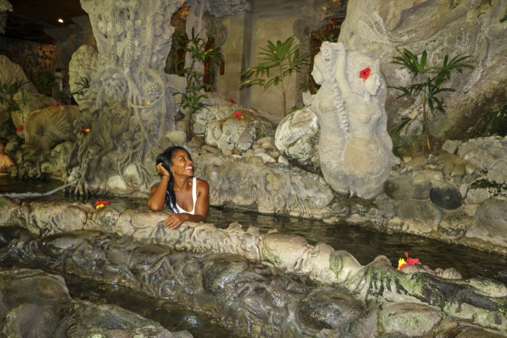 Tjampuhan Spa (i.e. the cave spa!)