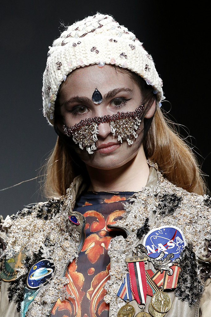 Embroidery pieces for Amai Rodriguez