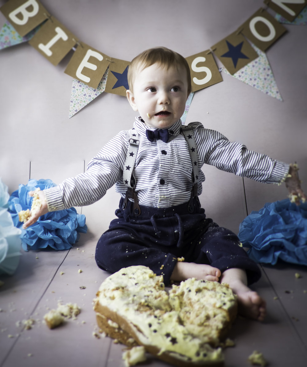 Cake smash 1st birthday