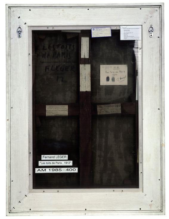 Philippe Gronon, Verso n°16, Les Toits de Paris, Fernand Léger, Collection Centre Pompidou, Paris - 2007 Photographie analogique, épreuve numérique pigmentaire, 91,5 x 72 cm