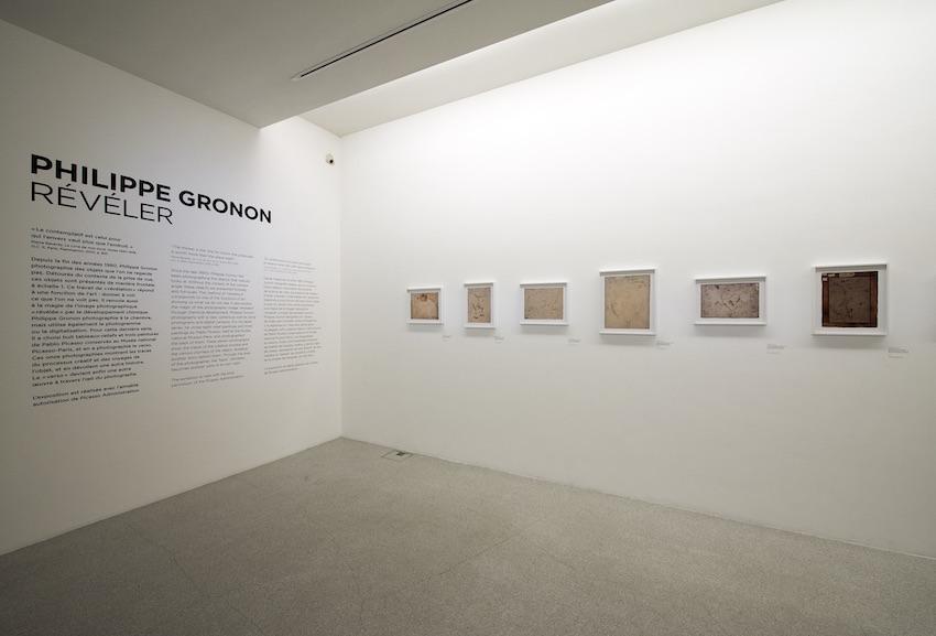 Exhibition View Philippe Gronon. Révéler, Musée Picasso, Paris 2016-2017