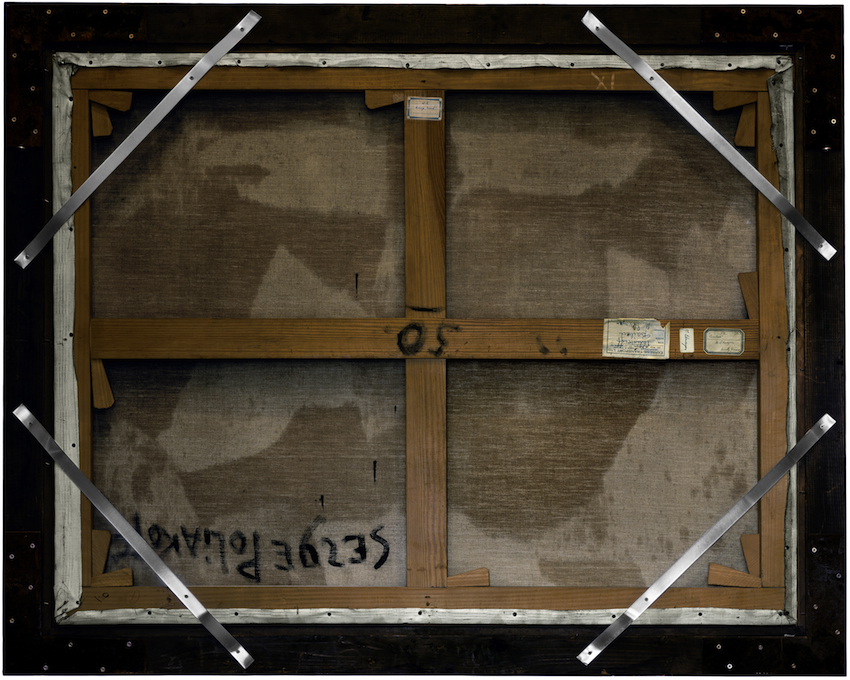 Philippe Gronon Verso n°48, Composition, Serge Poliakoff, Collection du musée des Beaux-Arts de Lyon - 2012 Photographie analogique, épreuve numérique pigmentaire - 120 x 147 cm