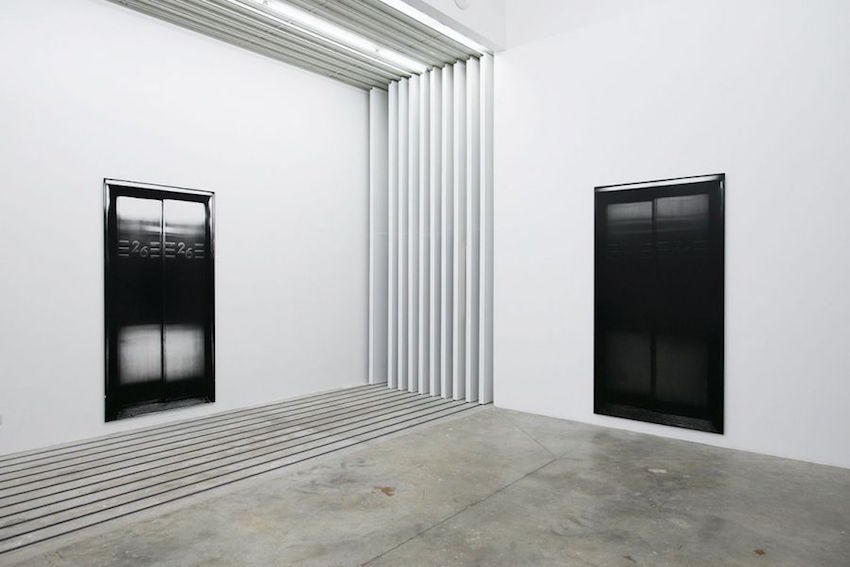 Philippe Gronon - Vue d'exposition On/Off, Galerie Barnoud, Quetigny - 2014 © Philippe Gronon