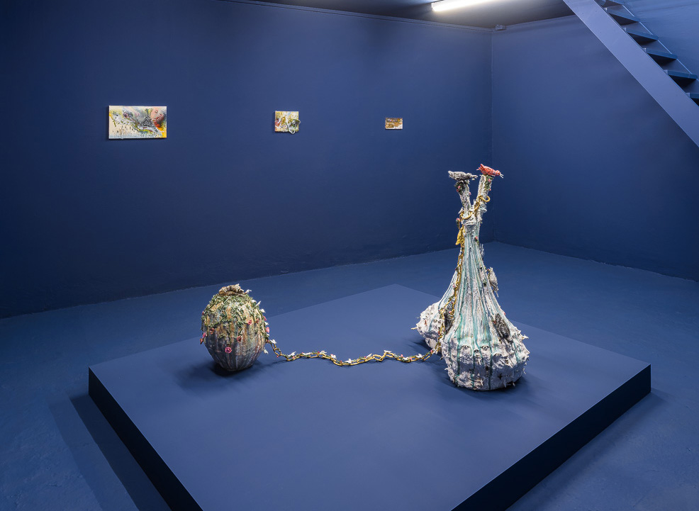 Exhibition View Les Grandes Eaux, Galerie Laurent Godin, Paris - 2014