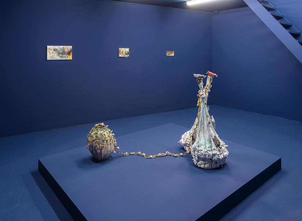 Exhibition View Les Grandes Eaux, Galerie Laurent Godin, Paris - 2014