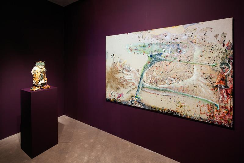 Marlène Mocquet Exhibition view, Maison des arts de Malakoff, 2013.