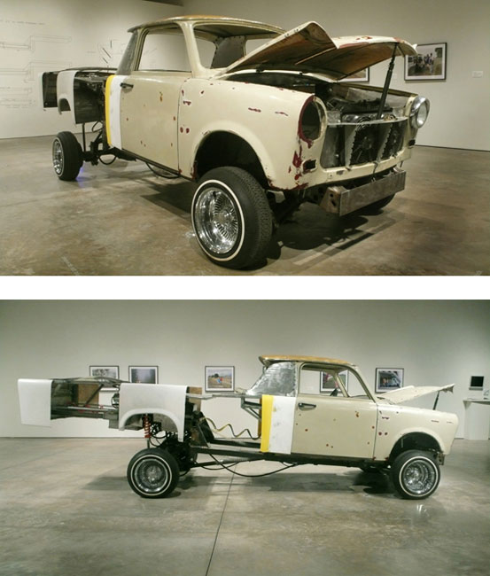 Liz Cohen Car Culture, Exhibition views, Scottsdale Museum of Contemporary Art (SMoCA), Scottsdale, Arizona, 2008