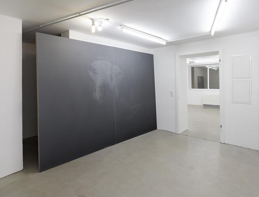 Exhibition view: Paul Czerlitzki, Mélange, Cologne, Allemagne, 2015