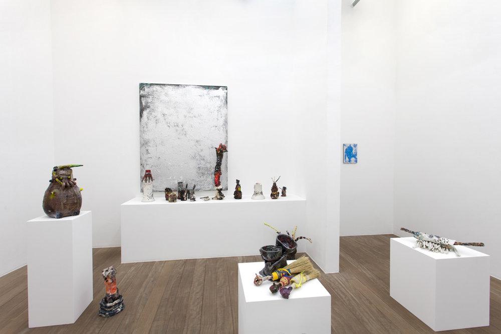 SYLVIE AUVRAY L'important c'est de bien placer la bougie 12.05.2016 - 11.06.2016 Galerie I